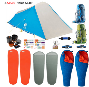 Lightweight Backpacking Kit (2-Person)