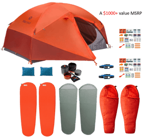 Lightweight Camping Kit (2-Person)