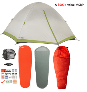 Festival Camping Kit (1-Person)