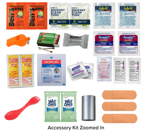 Free backpacking accessory kit
