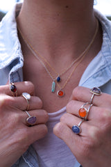 A rainbow of new jewels this Friday, May 15