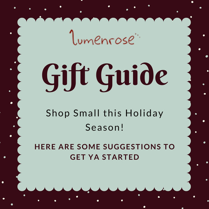 Shop Small Gift Guide!