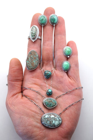 handful of lumenrose jewelry