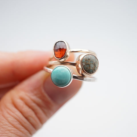 teeny stacking rings