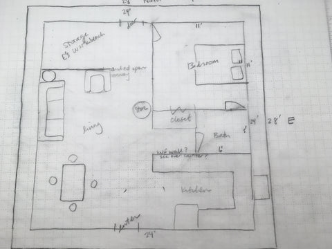 strawbale house sketch