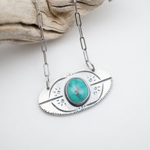i will speak up necklace #4 - high grade cheyenne turquoise