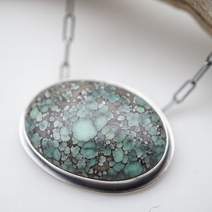 starfox variscite oval necklace