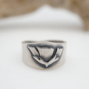 arizona poppy ring - size 5.25