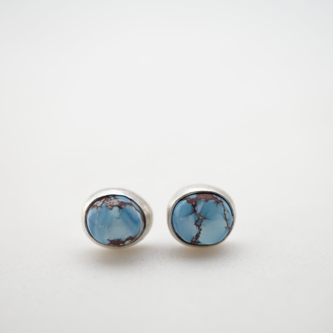 lavender turquoise tiny studs #1