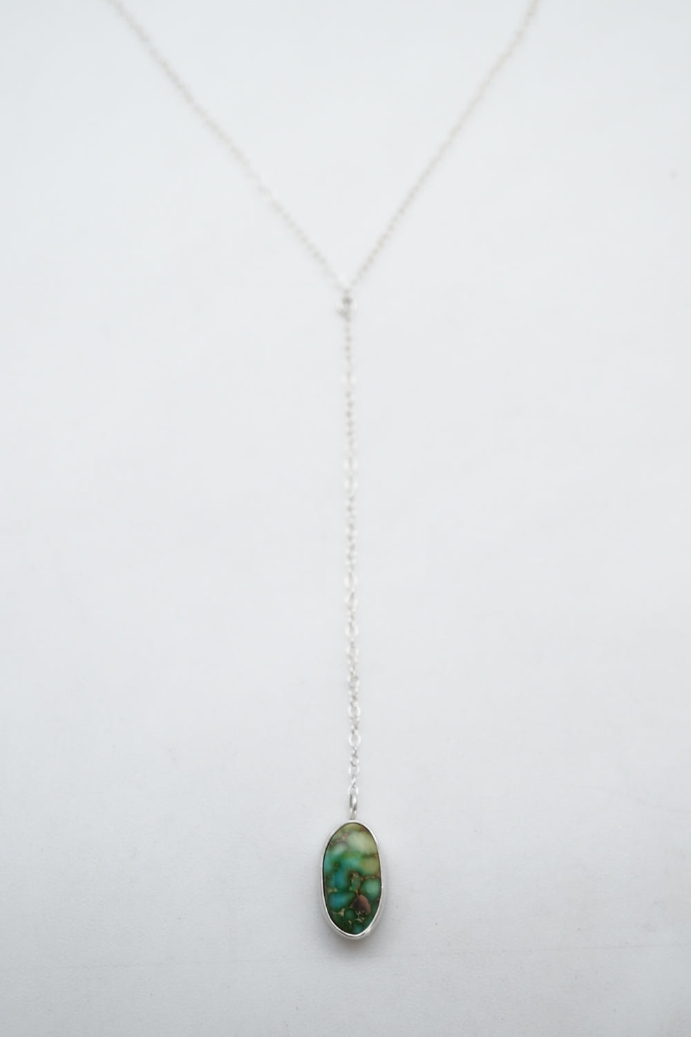 sonoran gold polychrome turquoise lariat necklace