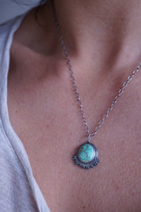 carico lake turquoise flair necklace