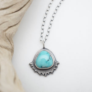 cheyenne turquoise flair necklace