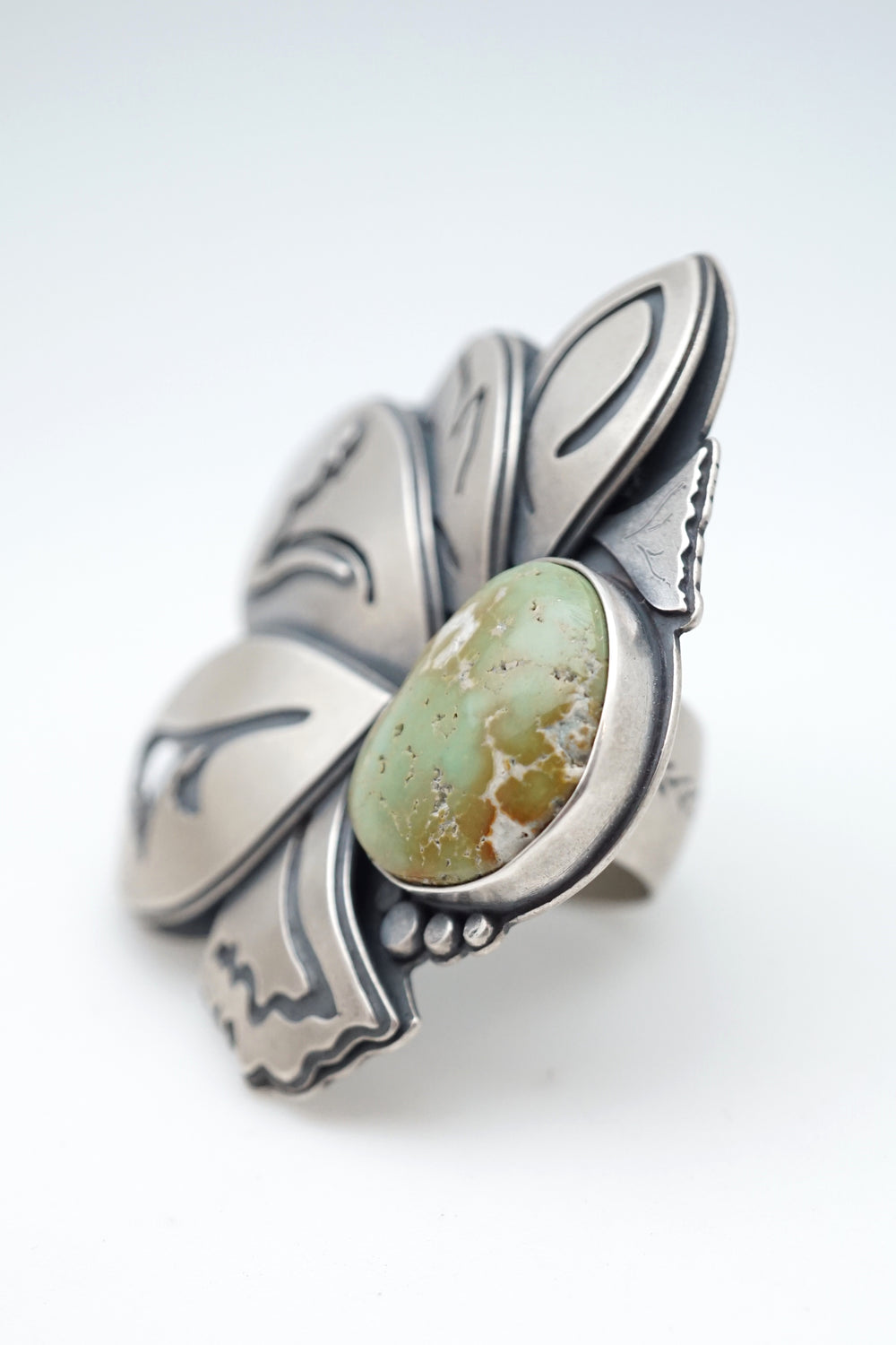 big beauty cheyenne turquoise ring - size 7.25