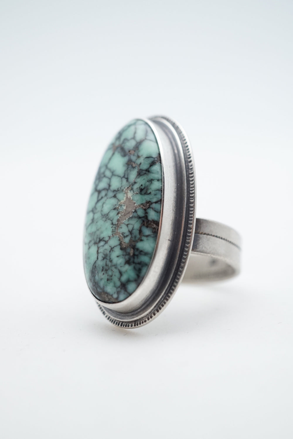 orion variscite statement ring
