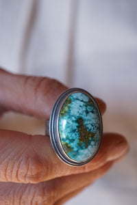sierra nevada polychrome turquoise statement ring