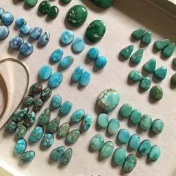 turquoise stone pairs for earring