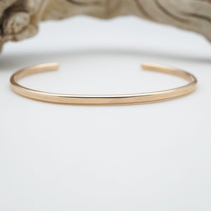 sturdy 14k goldfill cuff - two sizes available