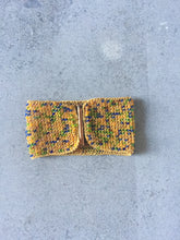 Yellow Beaded Cuff