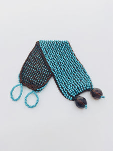Women's Turquoise Beaded Cuff