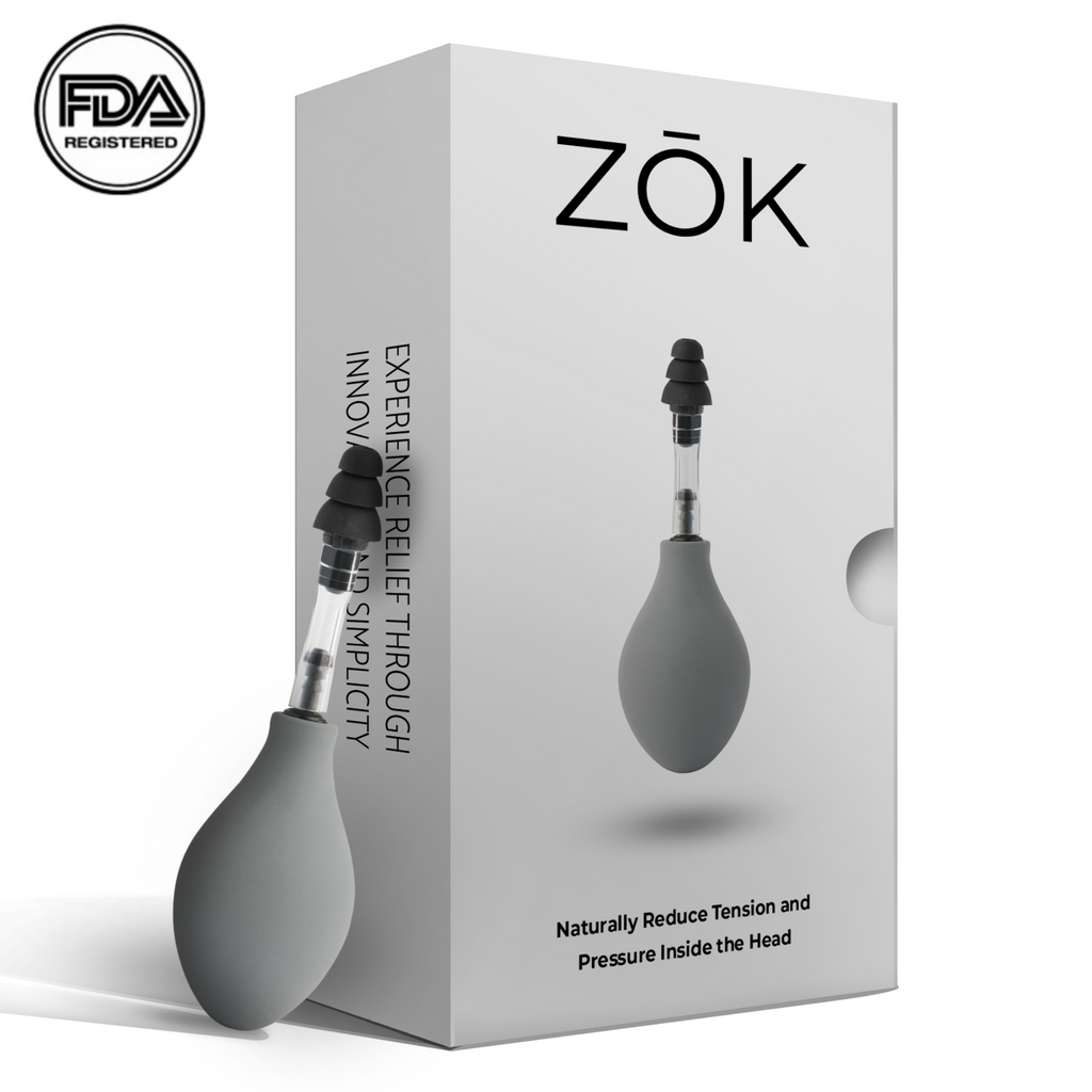 Zōk- Naturally Reduce Pressure and Tension Inside the Head