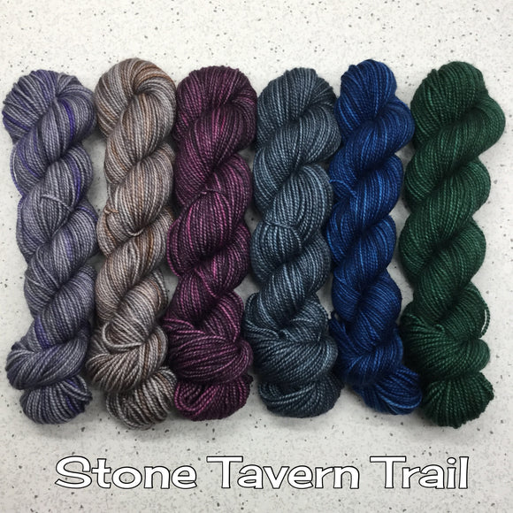 Half Skein Gradient and Mixed Marianade Sets