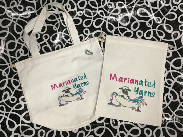 Marianated Yarns Trio