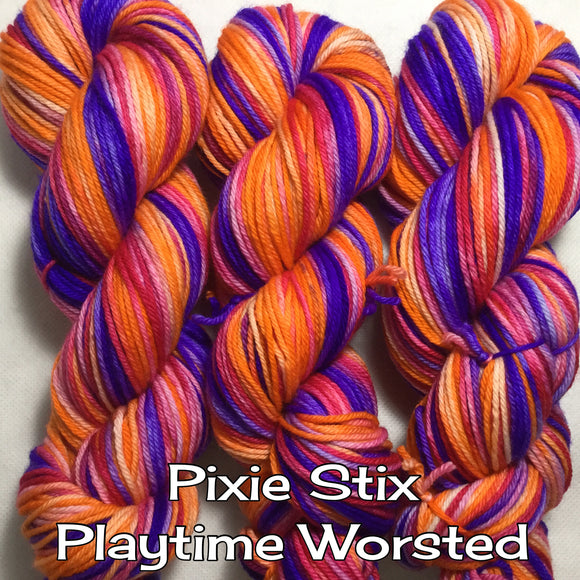 Pixie Stix Playtime Worsted