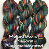 Melted Box of Crayons Playtime Worsted