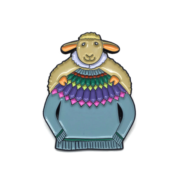 Sheldon Once Again Enamel Pin
