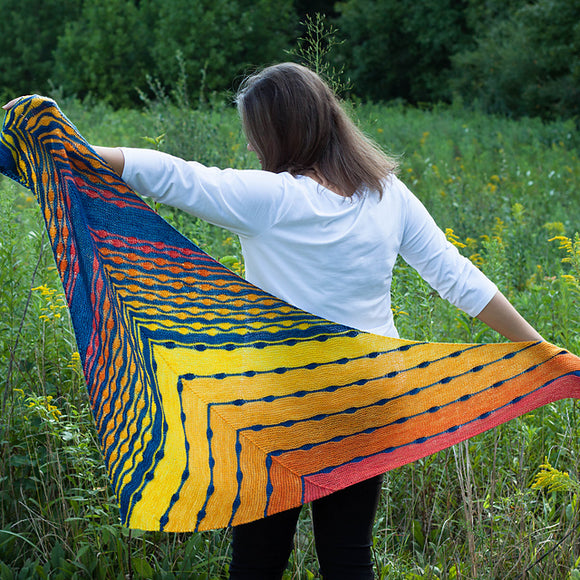 Sunspotter Shawl