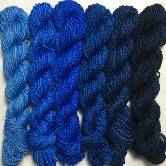Tangled Up in Blues Six Pack Jujubee DK Mini Set
