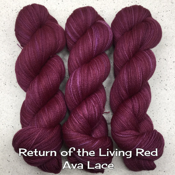 Return of the Living Red Ava Lace
