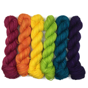 Daiquiri Six Pack Half Skein Set
