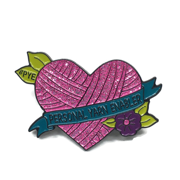 PYE Heart Enamel Pin