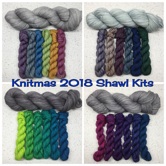 Knitmas 2018 Shawl Kit