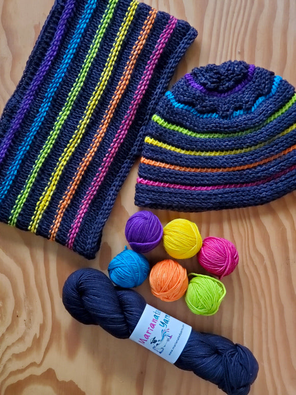 Skybridge Hat and Cowl Set