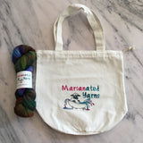 Marianated Yarns Project Tote