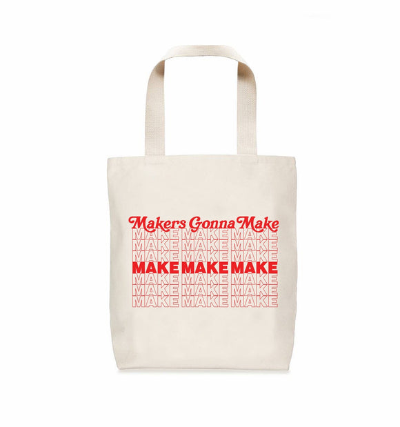 Nerd Bird Makery Makers Tote Bag