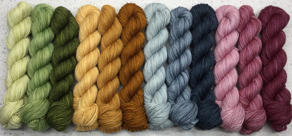12 Pack Perfection for The Crown Wools - Romancing the Stone