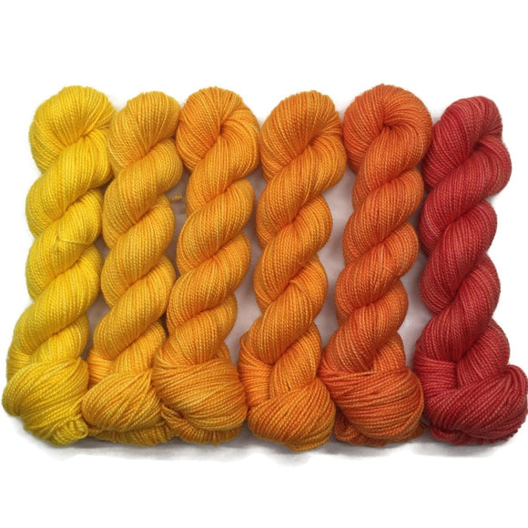 Smoothie Bar Six Pack Half Skein Set