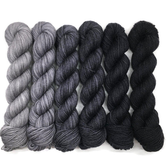 Stormy Skies Ahead Six Pack Half Skein Set