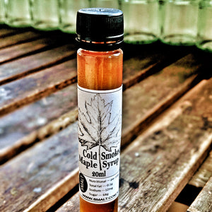 SMALT Cold Smoked 100% Canadian Maple Syrup 20ml