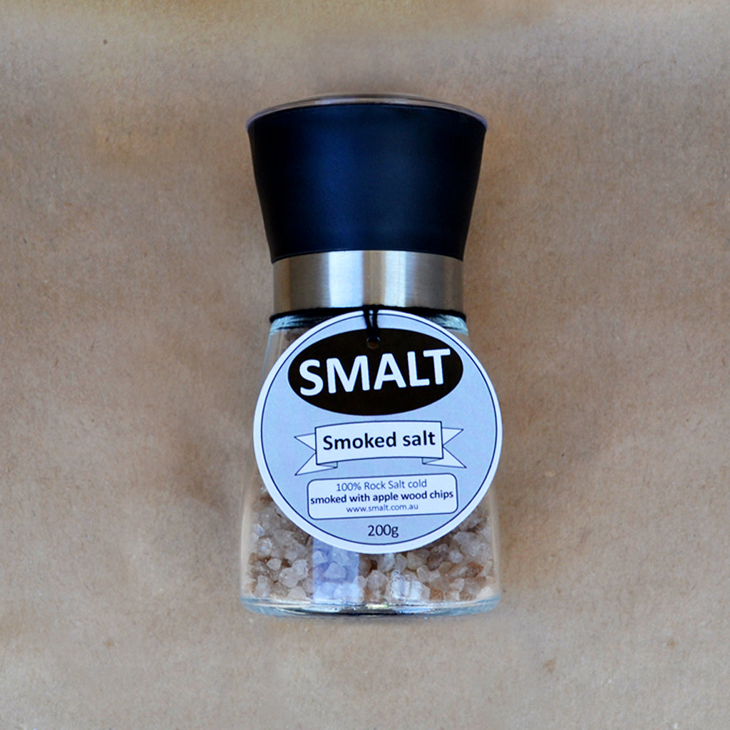 Cold Smoked Rock Salt Grinder