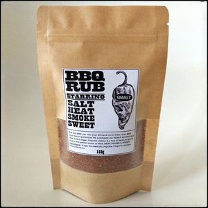 SMALT BBQ Rub - SALT HEAT SMOKE SWEET -  150g