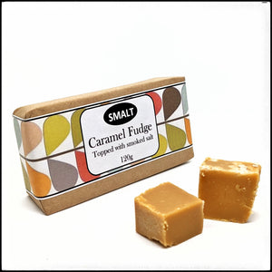 Smalted Caramel Fudge Bar Three Pack