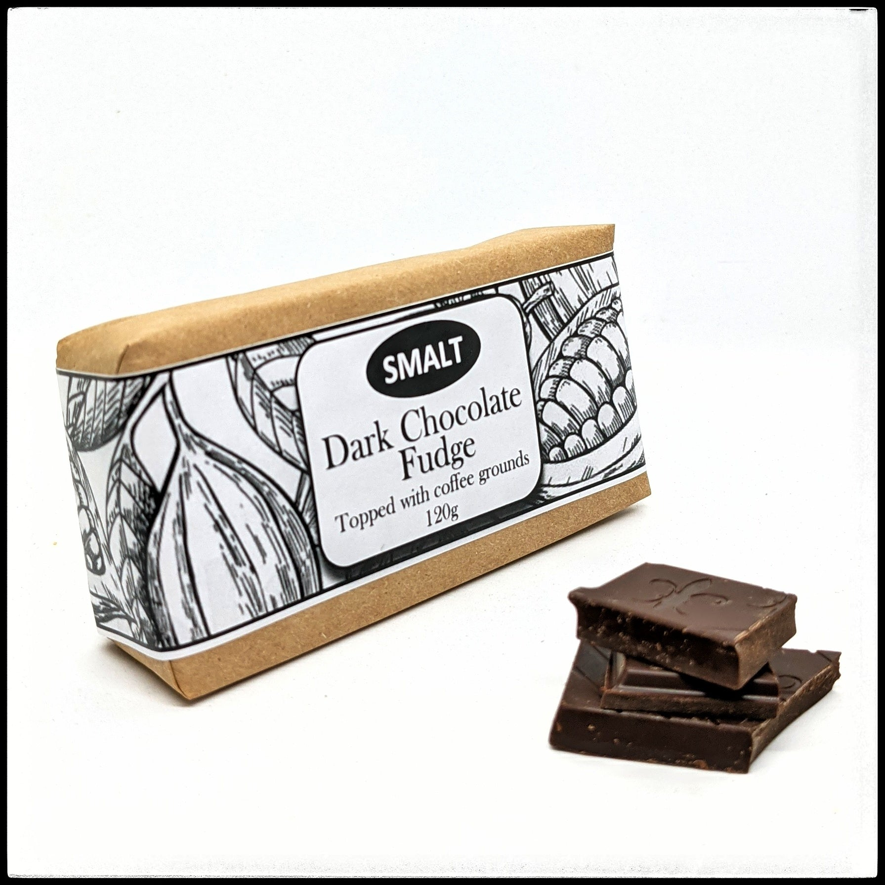 Dark Chocolate and Coffee Fudge Bar Three Pack
