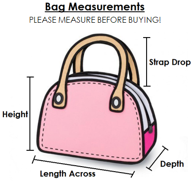 Bag Measurement Illustration