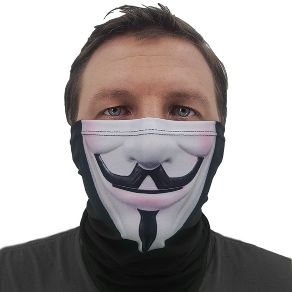 Anonymous Mask Neck Gaiter