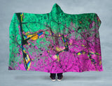 Acid Rock Hooded Blanket
