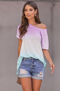 Purple Fade Perfect Ombre Tee